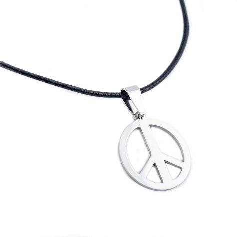 Collana con simbolo della pace