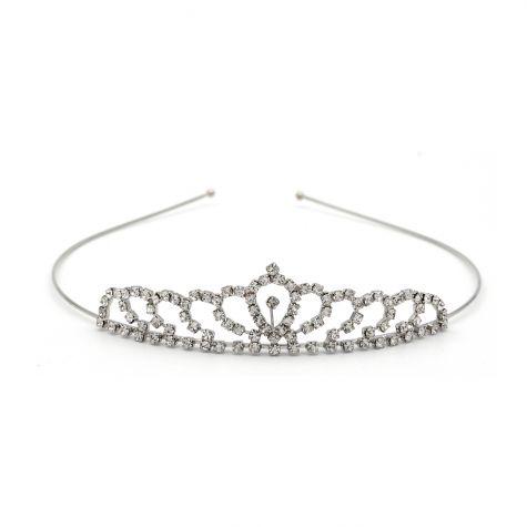 Coroncina tiara in strass