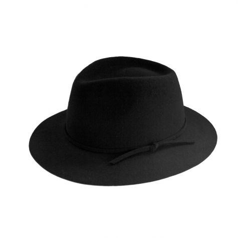 Cappello fedora in lana