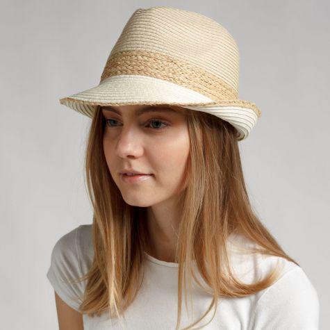 Cappello alpino in paglia