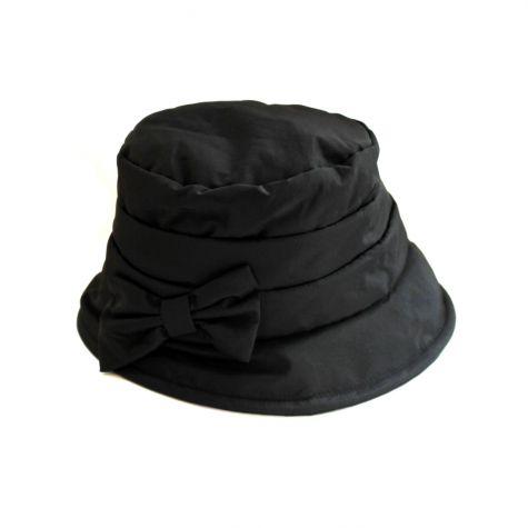Cappello pescatore/pioggia con fiocco