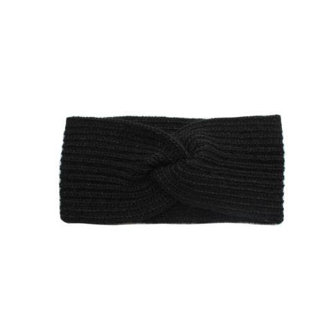 Fascia per capelli in lana incrocata