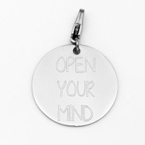 "Ciondolo ""Open your mind"""