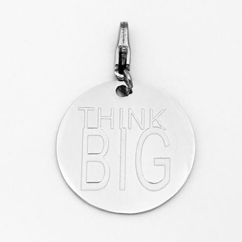 "Ciondolo ""Think big"""