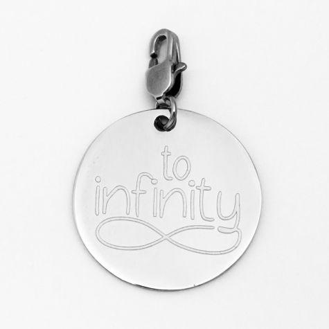 """Ciondolo """"To infinity"""""""