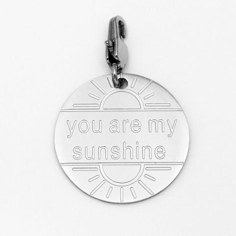 """Ciondolo """"You are my sunshine"""""""