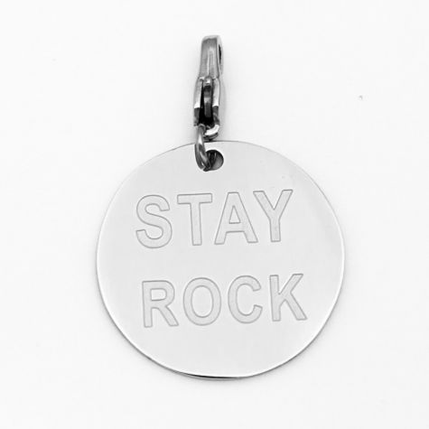 "Ciondolo ""Stay rock"""