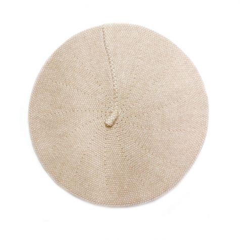 Cappello basco effetto sale e pepe