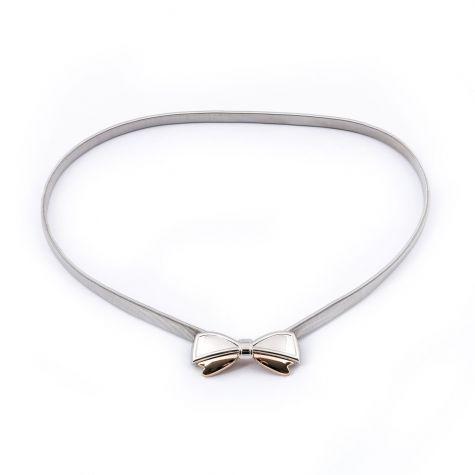 Cintura elastica con fiocco