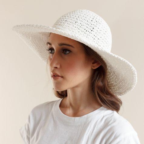 Cappello pamela in carta