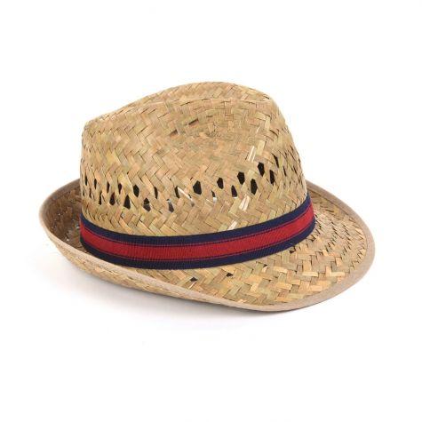 Cappello borsalino in paglia