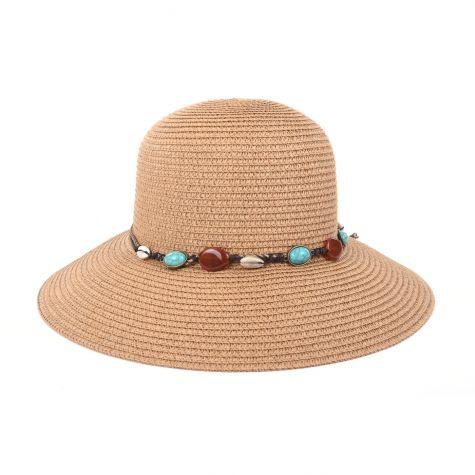 Cappello pamela con laccio