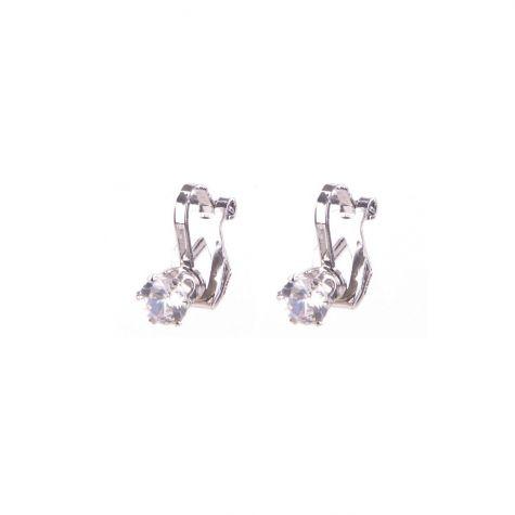 Orecchini clips Ear Cuff punto luce crystal