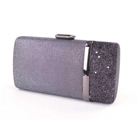 Pochette clutch con glitter