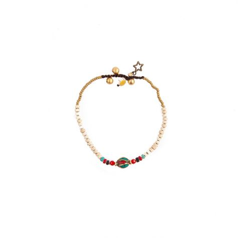 Caviglieracon sfera etnica multicolor