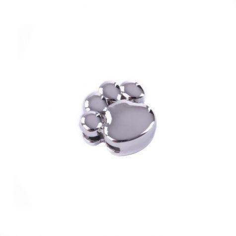Ciondolo zampina color argento