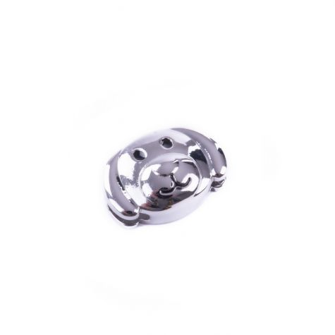 Ciondolo cagnolino color argento