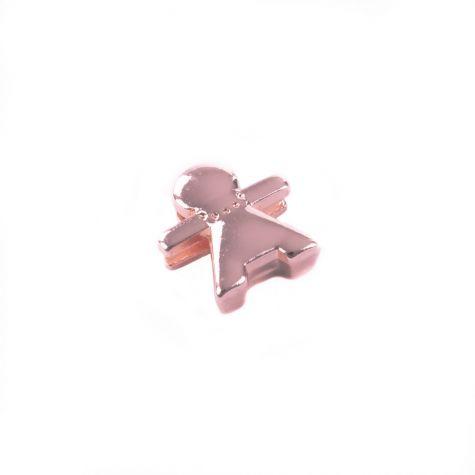 Ciondolo donna color oro rosato
