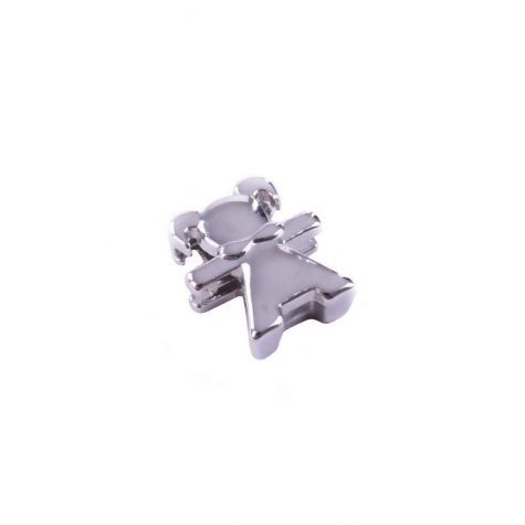 Ciondolo bimba color argento