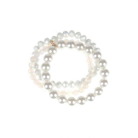 Bracciale 3 fili perla