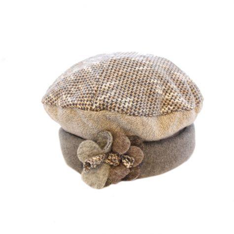 Cappello calottina in lana