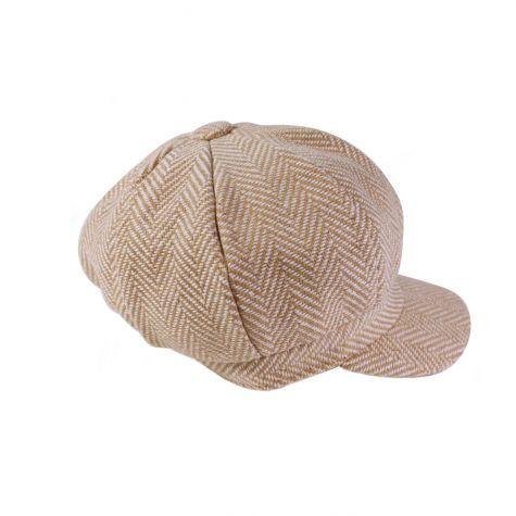 Cappello baker spigato