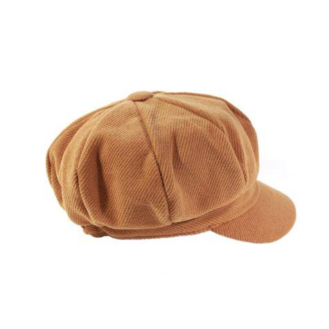 Cappello buker millerighe cammello