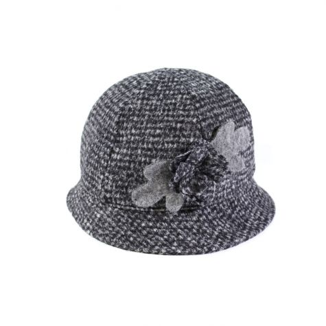 Cappello pescatore tweed