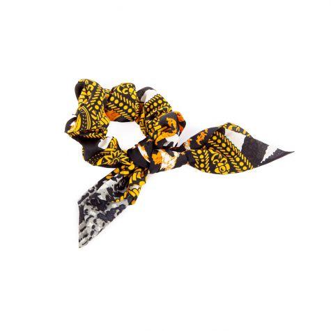 Fermacoda stampa foulard