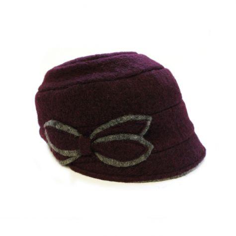 Cappello in lana cotta
