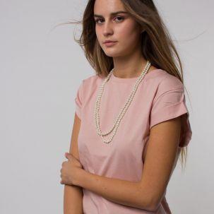 Collana lunga di perle