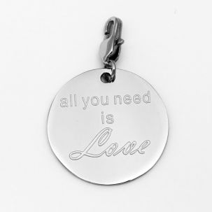 "Ciondolo ""All you need is Love"""