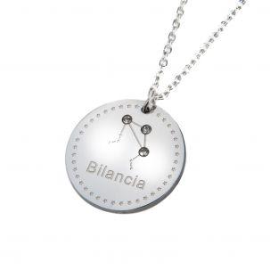 Collana con costellazione segno zodiacale BILANCIA